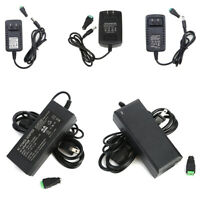 Power Supply Adapter AC/DC 12V 1A/2A/3A/5A for Security Camera CCTV LED Strips