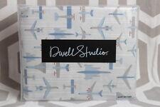NIP Dwell Studio Dwellstudio Flight Twin Duvet Cover and Sham $149 Boys Planes