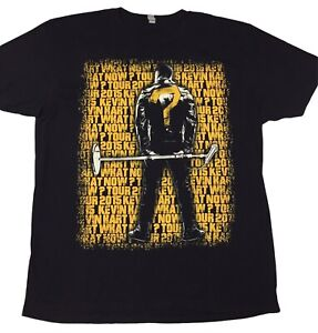 Kevin Hart What Now Tour Double Sided T-Shirt Xl Black