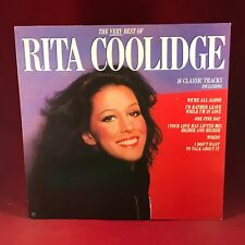 RITA COOLIDGE The Very Best Of 1981 UK vinyl LP AMLH68520 EXCELLENT CONDITION C