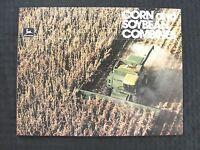 1980 1981 JOHN DEERE 4420 6620 7720 8820 TITAN CORN BEAN COMBINE BROCHURE MINTY