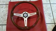 Datsun 240z 260z 280z 280zx MOMO Classic Wood Steering Wheel & Hub/Horn Button