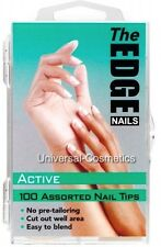 The Edge Active Nail Tips 100 Assorted 2017411