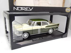 Norev 1/18 - Simca Chambord Verte et Blanche