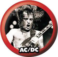 AC/DC - Ansteck Button - Angus Young - Pin - Ø 2,5 cm  - Neu - Anstecker