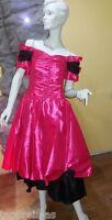 ABENDKLEID DAMENKLEID KLEID PARTY DISCO Feier GR.38 Cocktailkleid schwarz pink