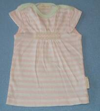 Pure Baby Gorgeous Little Girls Pink & White Striped Tee, Size 000