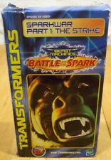 TRANSFORMERS BEAST MACHINES Sparkwar Part 1 THE STRIKE VHS VIDEO 2000