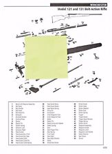 WINCHESTER 121,131 RIFLE, 1300 XTR SHOTGUN Exploded View/Parts List 2011 Ad
