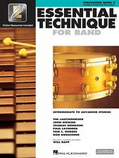 Essential Technique for Band Intermediate to Advanced Studies Percussi 000862633