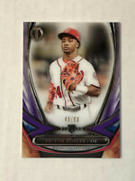 VICTOR ROBLES 2018 Topps Tribute PURPLE SP ROOKIE RC /50! #18R-10! NATIONALS!