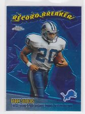 2003 TOPPS CHROME BARRY SANDERS - RECORD BREAKERS #RB1