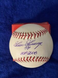 Jim Rice HOF 2009 Signed Autographed Baseball Boston Red Sox