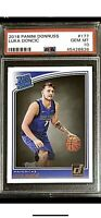 Luka Doncic 2018-19 Donruss Rookie #177 PSA 10 GEM MINT Red Hot RC Card🔥📈QTY