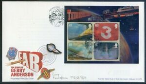 Great Britain 2011 Gerry Anderson sheet on F.D.C.. special pmk. (2020/11/03#10)