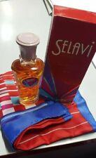 Selavi' Schuberth Eau de Toilette 50 ML Splash + Scarf Vintage Signed Rare