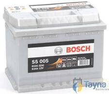 Type 027 Car Battery 610CCA Bosch S5005 12V 63Ah 5 Years Wty Sealed OEM Replacem