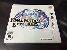 Final Fantasy Explorers Nintendo 3DS Complete NM