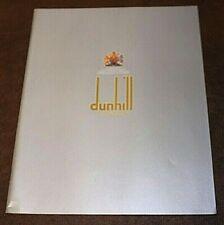 1981 Dunhill London 40 Page Catalog Original Sales Brochure