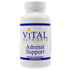 Vital Nutrients Adrenal Support 120 Capsules