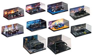 Lot de 10 véhicules de Batman 1/43 Collection Eaglemoss DC Comics Batmobile N1A