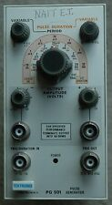 TEKTRONIX PG 501 Pulse Generator Plug-in, Works Great. Fully function B087422