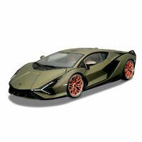 In Stock Newest Bburago Lamborghini Sian FKP37 1:18 Diecast Car Roadster Model