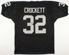 22d9af636 Zack Crockett Signed Raiders Jersey (Pro Player Holo) Oakland Fullback  1999-2006