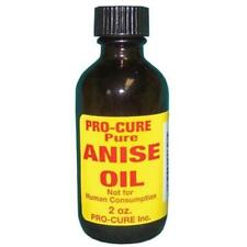 Pro-Cure Pure Anise Bait Oil 2 oz Bottle Fishing Scent