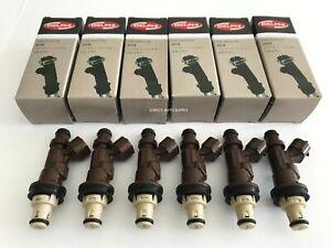 6 OEM NEW FUEL INJECTORS 23250-62040 23209-62040 3.4L V6