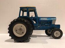 Vintage ERTL TW-15 Ford Farm Tractor Dual Wheel Die-Cast Blue 1/12 Scale