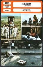 FICHE CINEMA : ERENDIRA - Papas,Lonsdale,Guerra 1983