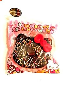 NEW Hello Kitty Chocolate Sprinkle Donut Squishy