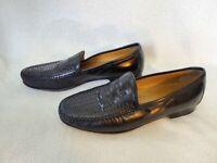 5910157 PF50 Men's Shoes Size 9 M Black Leather Slip On Johnston & Murphy