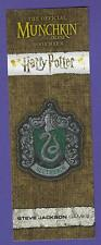 Slytherin Harry Potter Munchkin Bookmark Promo GenCon Actual Scans!
