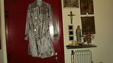 FRENCH D-STIAG BEIGE BROWN GLOSSY  TRENCH COAT  RAINCOAT SIZE XL but FITS ALSO L