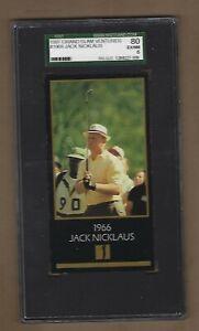 1997  GRAND  SLAM  VENTURES # 1966  JACK  NICKLAUS   SGC  80