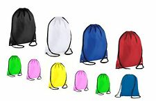 Girls/Boys School Bag PE Waterproof Drawstring Backpack Swim Shoes Gym SportsBag