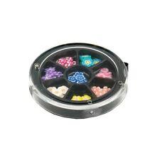 Star Nails flores rodajas de caña RUEDA COLLECTION MANICURA COLORES Material Kit