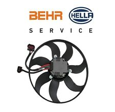 For Audi A3 TT Volkswagen CC Eos GTI Passat Driver Left Engine Cooling Fan Motor