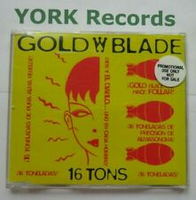 GOLD BLADE - 16 Tons - Excellent Con CD Single Ultimate TOPP 067CD