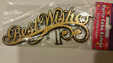 Best Wishes Layon Cake Topper