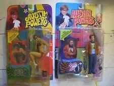 Mezco Austin Danger Powers Action Figure 1999 + Scott Evil new in box McFarlane
