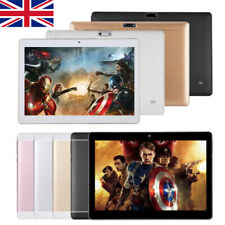 10.1 Inch Android 8.1 Tablet PC 64GB+4GB Octa Core Dual SIM Camera Wifi GPS UK