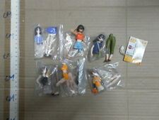 Bandai Azumanga Daioh uniform figure gashapon part 1 opened 6 pcs