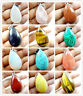 43*24*13mm Multicolored agate Water drop PENDANT GEM Jewelry making necklace