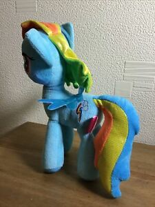"My Little Pony Plush Toy Rainbow Dash 11"" Tall Great Fun Gift Xmas/ Any Occasion"