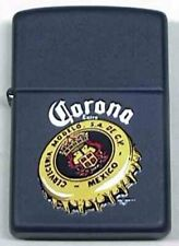 Rare Retired Black Matte Corona Zippo Lighter