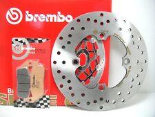 68B40780 FREIN À DISQUE BREMBO ARRIÈRE + PLAQUETTES HONDA ARGENT WING 600 2002