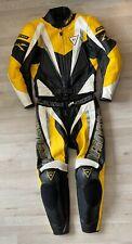 Lederkombi Dainese Gr. 48 Top Motorradkombi Gelb Weiß Schwarz Leather Suit
